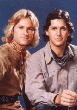 TV of my youth: Quest (in the 70ies) : Tim Matheson and Kurt Russell: so young!