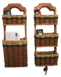 Wall Organizer Double Basket