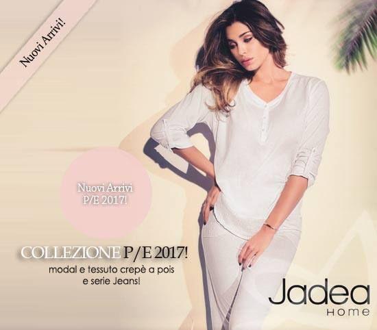 Iniziamo la settimana con Jadea Home! Abbiamo selezionato le più belle proposte homewear del brand. Pigiami donna e camicie da notte che uniscono la comodità al perfetto stile dell'estate e quel gusto tipico del mare e della spiaggia! #donna #moda #estate #look #outfit #primavera #jadea #stile http://ift.tt/2mL8tuO