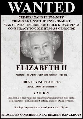 Birth of a New Earth: ARREST WARRANTS ISSUED FOR QUEEN ELIZABETH AND UK PRIME MINISTER DAVID CAMERON -- WANTED FOR PARTICIPATION IN SATANIC RITUAL ABUSE AND CHILD RAPE