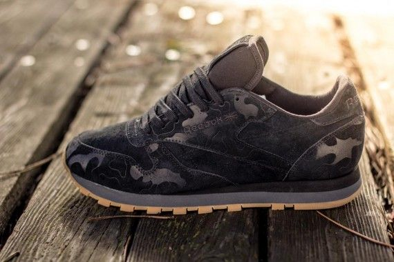 reebok classic leather salvaged wood