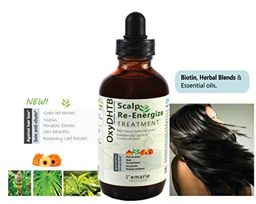 Lemarie Intensive Energizing Healthy Scalp  Hair Growth Anti Fall Treatment Ketoconazole Minoxidil Antifall DHT Blocking Prevention Antidandruff Biotin Saw Palmetto for Men and Women Dandruff Lotion Drops * Visit the image link more details.
