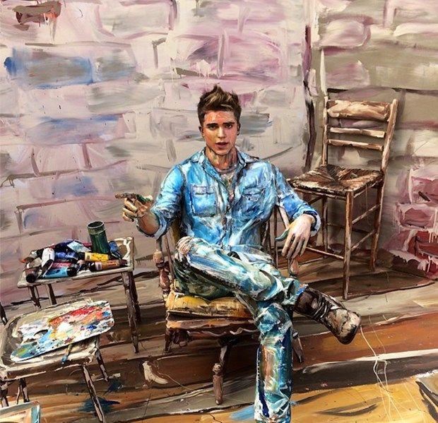 İnsanı Tuval Olarak Kullanan Sanatçıdan İlginç Eserler!   Sanat Karavanı