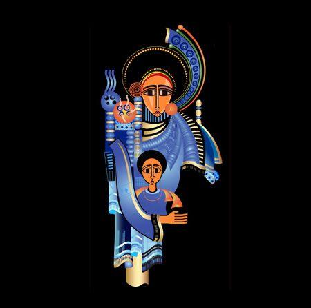 Ethiopian Art - Angel of Gondar | Konjo Bee: The Ancient ...