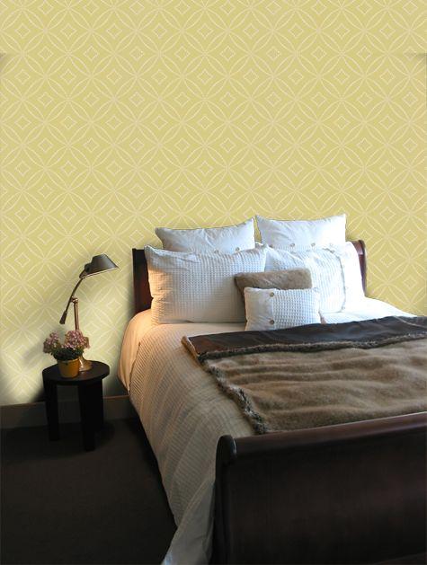12 best Bedroom images on Pinterest | Feature wallpaper, Wallpaper ...