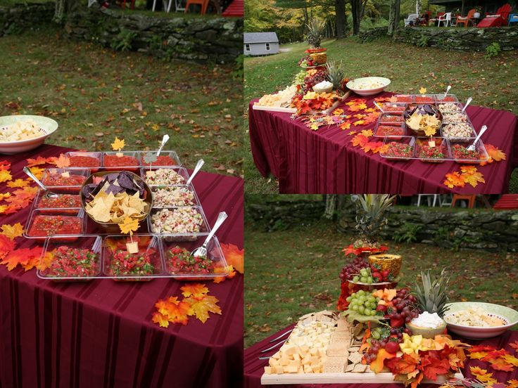 Fall Backyard Wedding