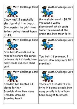 Adding fun to rotations, fast finishers or math groups.