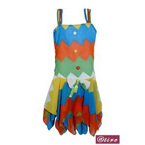Zig Zag Multicolored dress