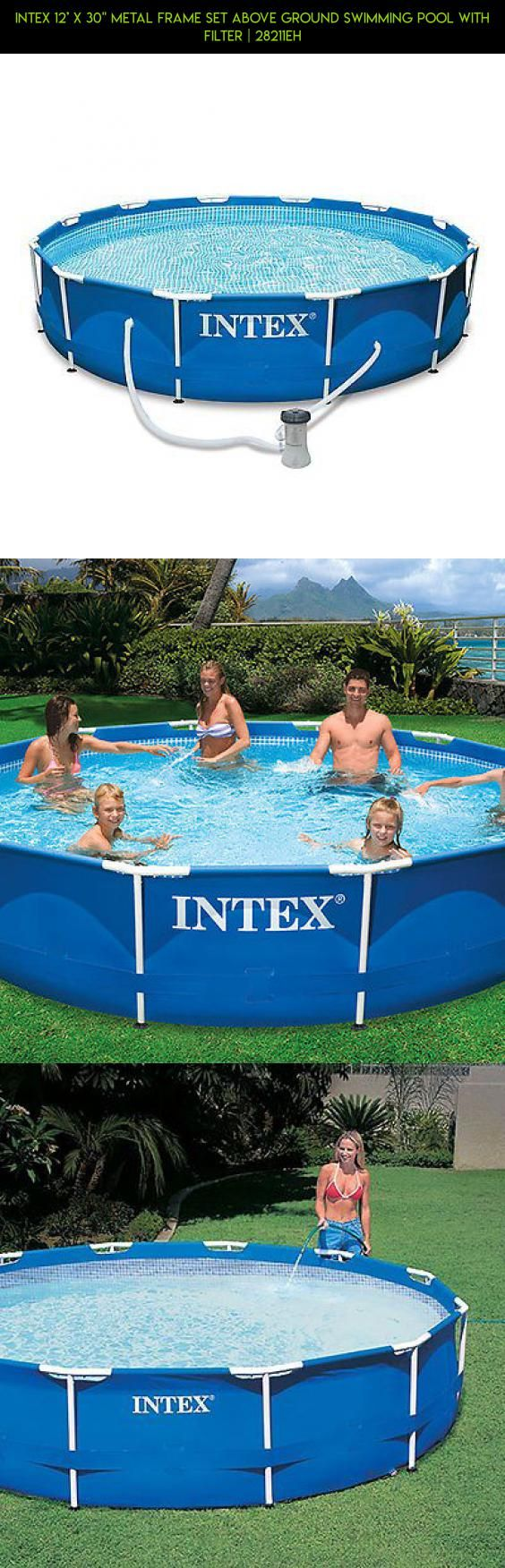 Intex 12x30 Metal Frame Pool