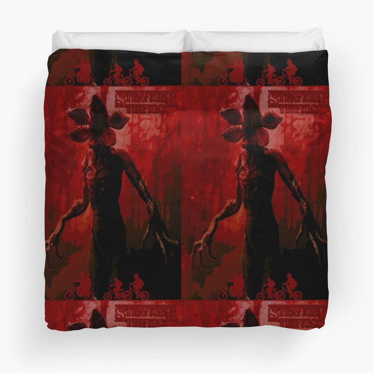 Stranger Things Duvet Cover by scardesign11 #stranger_things #strangerthingsduvetcover #buycoolduvet #strangerthingsduvetcover #bedroom #geek #disappearance #boy #netflix #paranormal #xfiles #x_files_mystery #strange #odd #spooky #supernatural #thriller #sciencefiction #scifi #sci_fi #winona_ryder #scary #monster #cooltshirts #horrorposter #buycoolposters #pop #culture #80s #style #retro