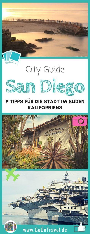Nur einen Katzensprung von der mexikanischen Grenze entfernt liegt San Diego, die zweitgrößte Stadt Kaliforniens. Die mexikanischen Einflüsse sind überall in der Stadt sichtbar. Nicht nur wegen des milden Klimas und den über 300 Sonnenstunden im Jahr zählt San Diego inzwischen zu einer meiner Lieblingsstädte in den USA. Hier erfährst du einige Gründe warum! #SanDiego #USA #USAMetropolen #Städtetrip