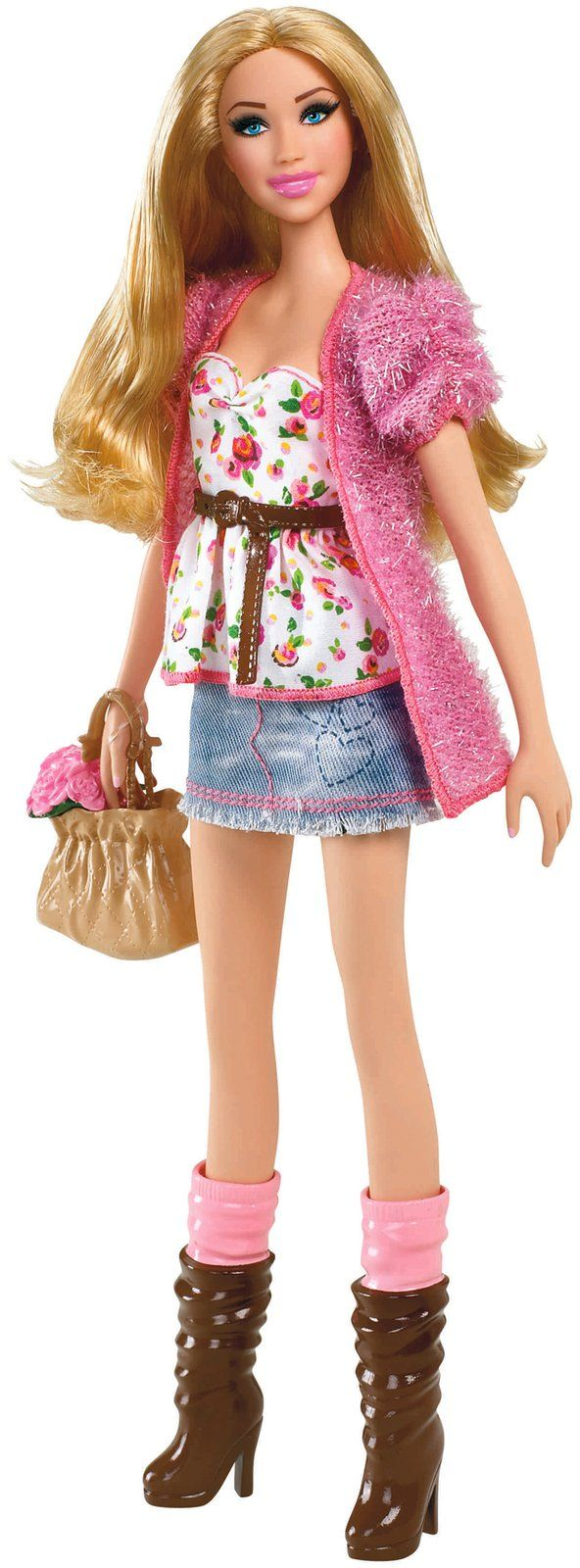 Barbie Barbie Fashion Stardoll Doll - Mix and Match Trendy Original  Fashions and Accessories imported goods