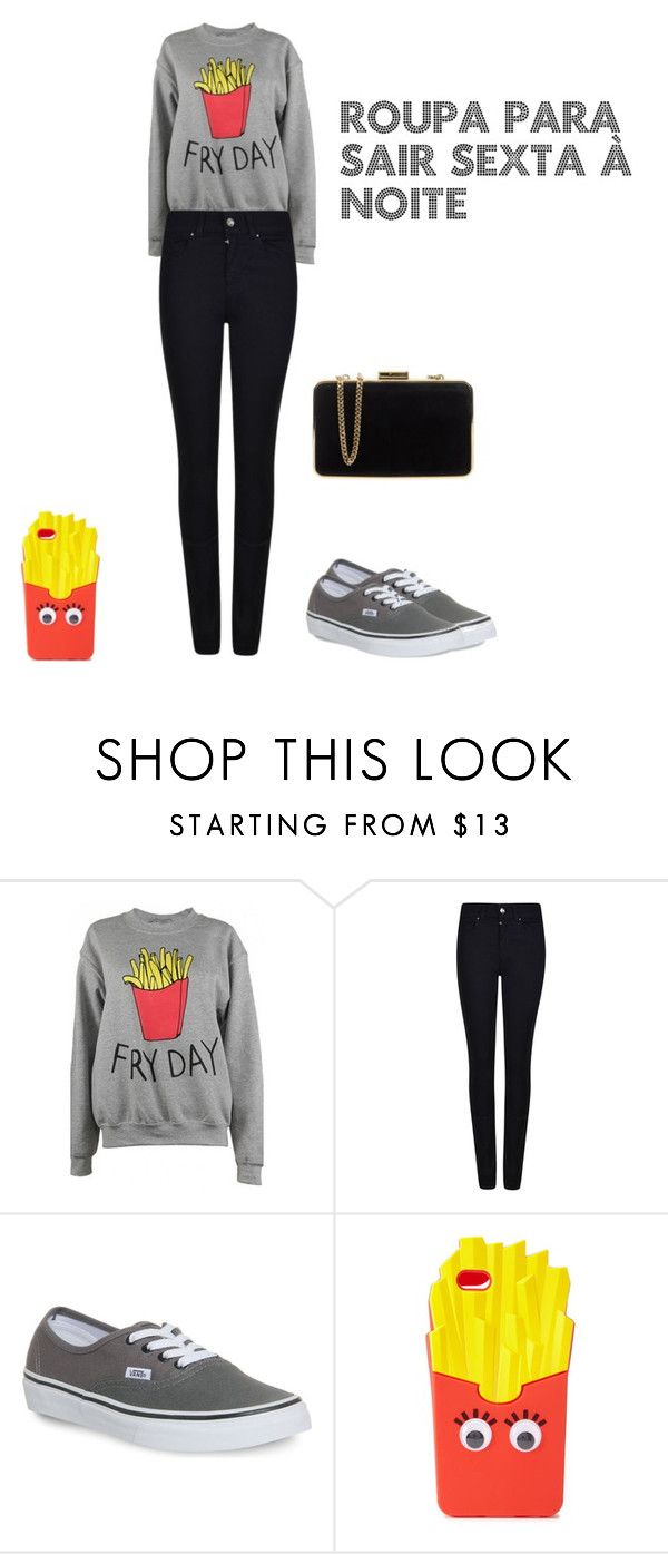 """Roupa Para Sair à Noite"" by mariapikena ❤ liked on Polyvore featuring Adolescent Clothing, Armani Jeans, Vans, Forever 21 and MICHAEL Michael Kors"