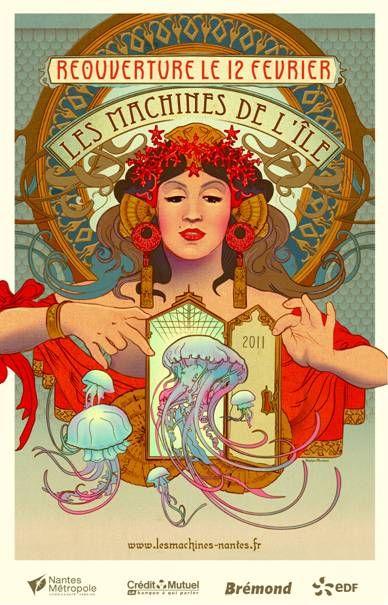 Les Machines de l'île seem to be building a Carousel project  See http://zonelibre44.free.fr/carrousel.htm