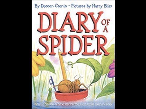 Diary Of A Spider - read by Arwen Sharp - YouTube