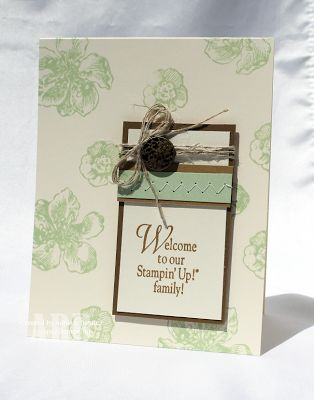 Stampin Up! Pistachio Pudding Everything Eleanor