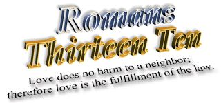 romans 4   HERE I AM O LORD: Romans 13:8, 10, Luke 14:27, 33 and Psalm 112:1-2