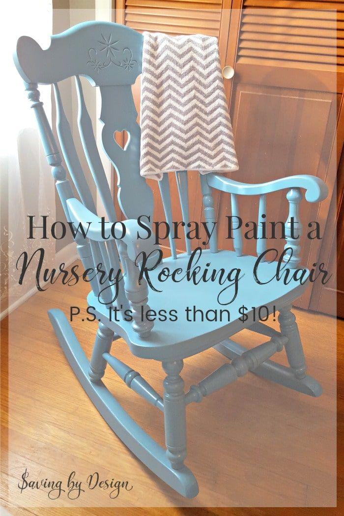 Wooden Rocking Chair Nursery