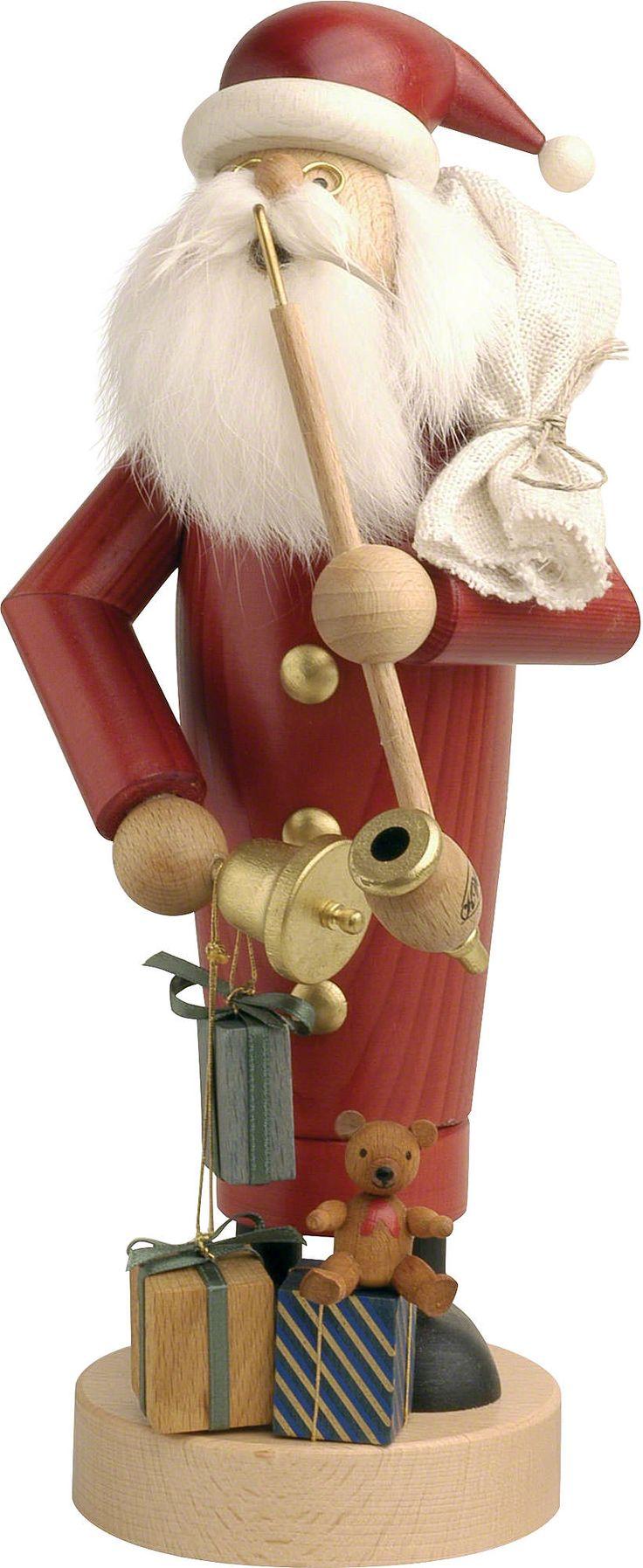 Räuchermännchen Weihnachtsmann (25cm) von KWO