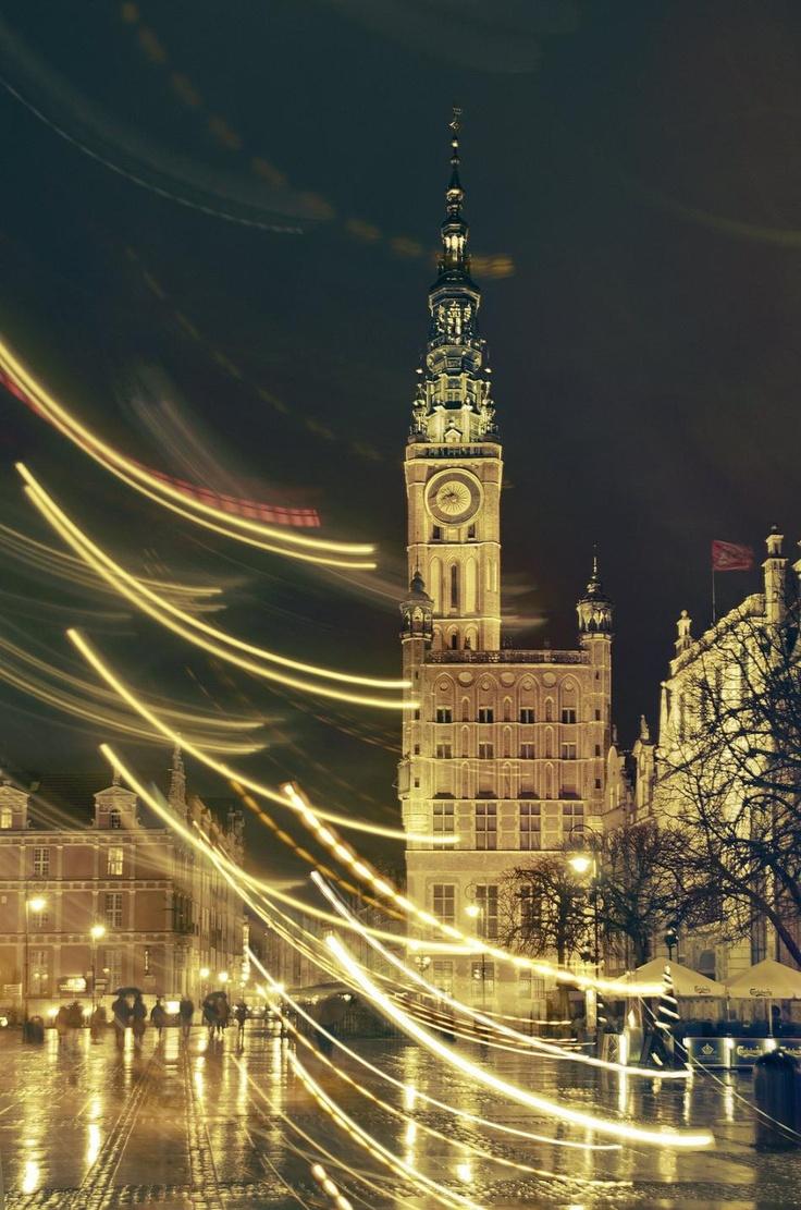 #gdansk #night