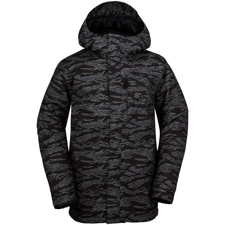 Volcom L Gore-Tex Jacket Camouflage/Black/Grey XL
