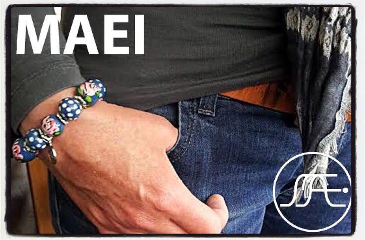 #maei #bracelet #handpainted on #wood #ColorYourLife #accessories #bohemian #ibizastyle #bohostyle #fashion #armcandy #fashionblogger #womenstyle #instafashion #girlswithstreetstyle #womenswear #flowers #mode #modebloggers #styleblog #styleblogger