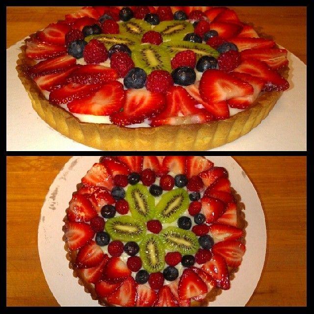Fresh Fruit Tart | My Creations | Pinterest | Fresh fruit tart, Fruit ...