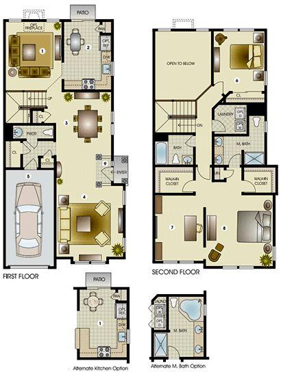 The Wellington II Townhome   Edgewood Properties