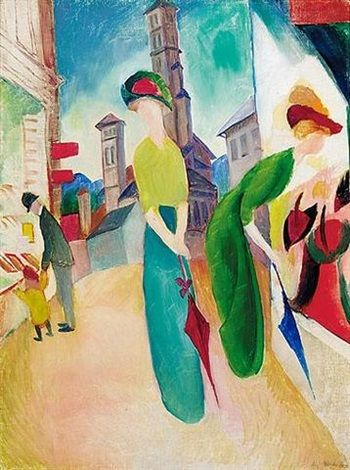 View past auction results for AugustMacke on artnet