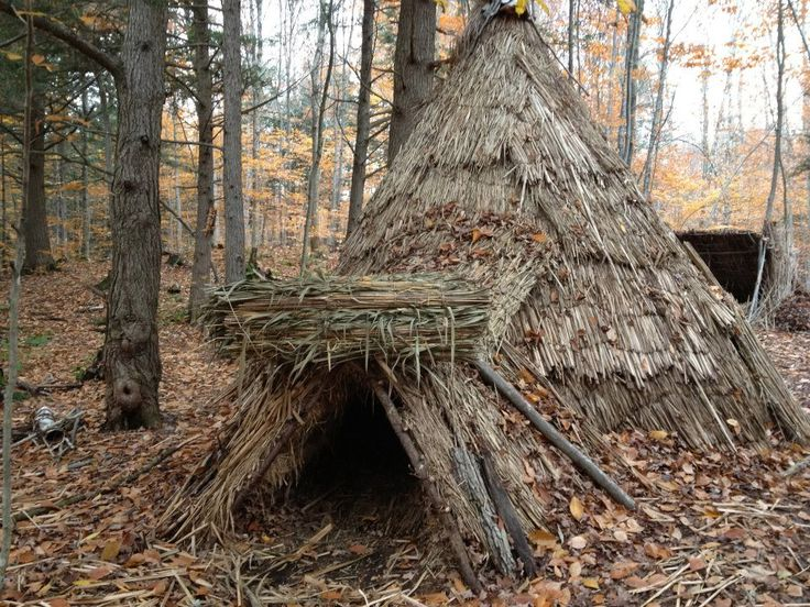 Wilderness Survival Shelters Long-Term | Long Term Primitive Shelter at ROOTS
