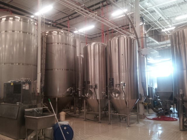 Fermentors at the Amsterdam Brewing Company. #beer #breweries