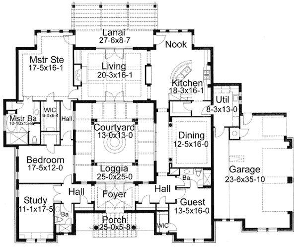 Best 25+ Interior courtyard house plans ideas on Pinterest