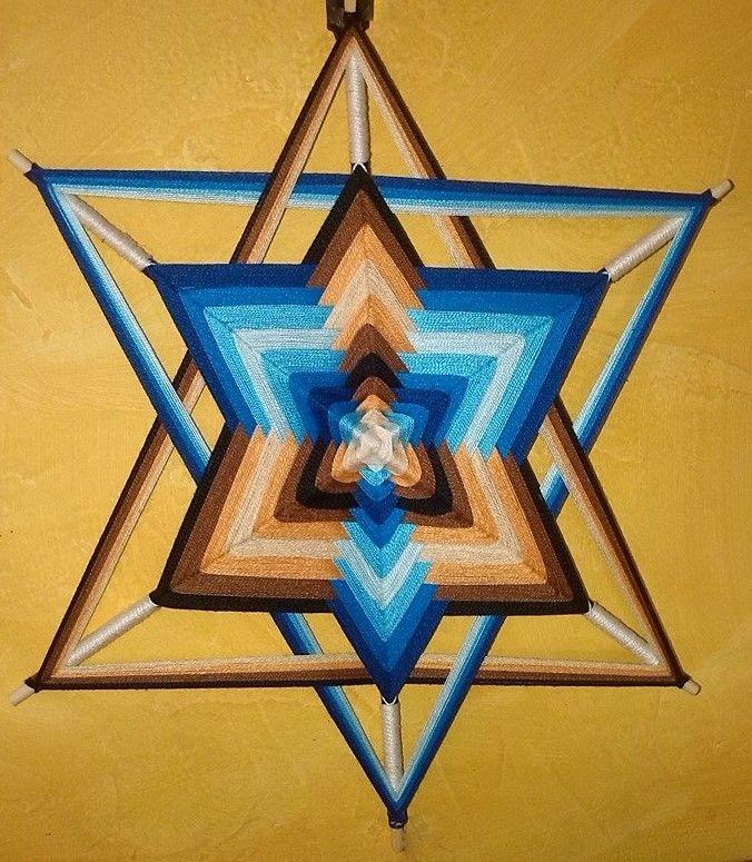 """Mandala """"Ojo de dios"""""""