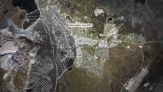 Suécia está trocando uma cidade inteira de lugar para evitar que ela afunde