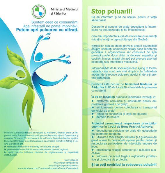 Si tu poti contribui la reducerea poluarii!