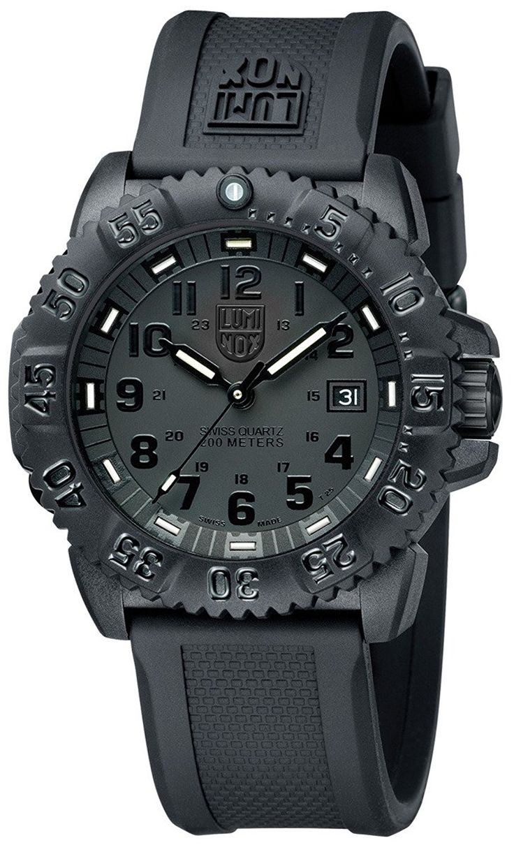 Luminox Evo Navy Seal Blackout Mens Watch 3051.BLACKOUT * Awesome product. Click the image : Gift for Guys