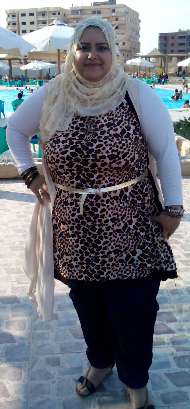 Safary look (plus size hijab fashion)