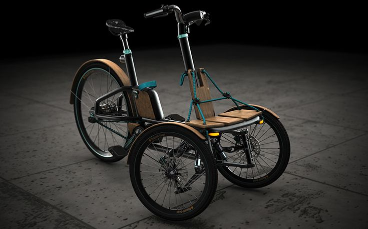 niavis design evolves kaylad-e into hybrid electric tricycle