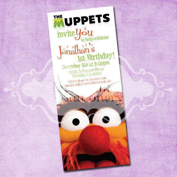 Muppets Animal Free Printable: 220 Best Images About Muppets
