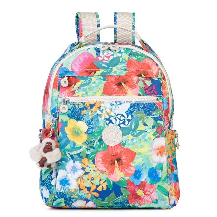 Micah Printed Backpack - Kipling