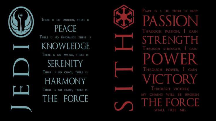 Star Wars Sith ... Jedi Code Wallpaper