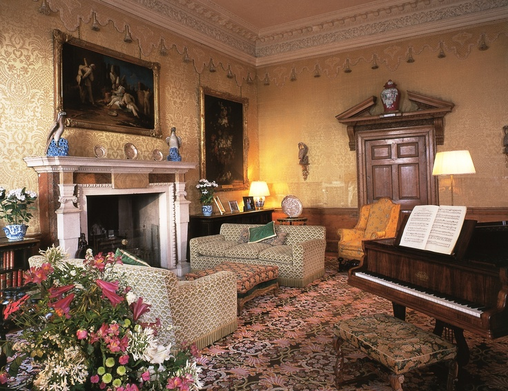 Yellow Drawing Room At Leeds Castle Places I Have