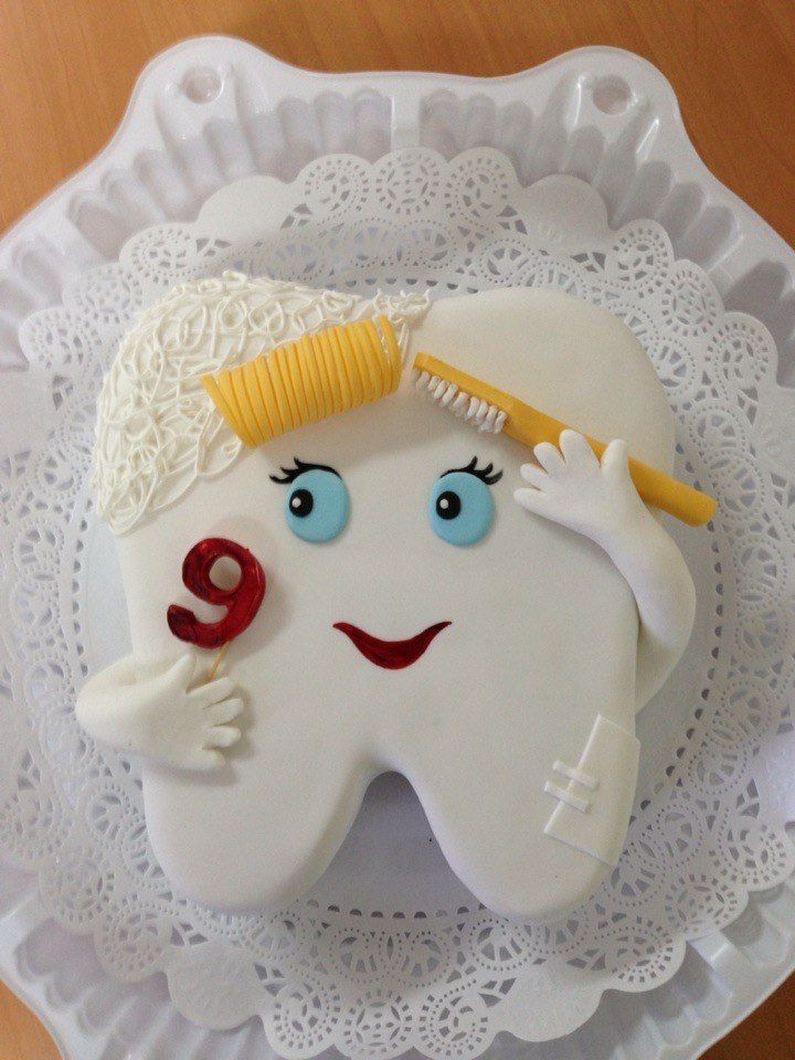 Торт для стоматолога #стоматология #dentistry