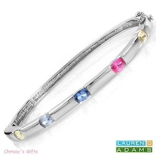 Brilliant Bracelet with 2.90 CTW Genuine Cubic zircon | eBay