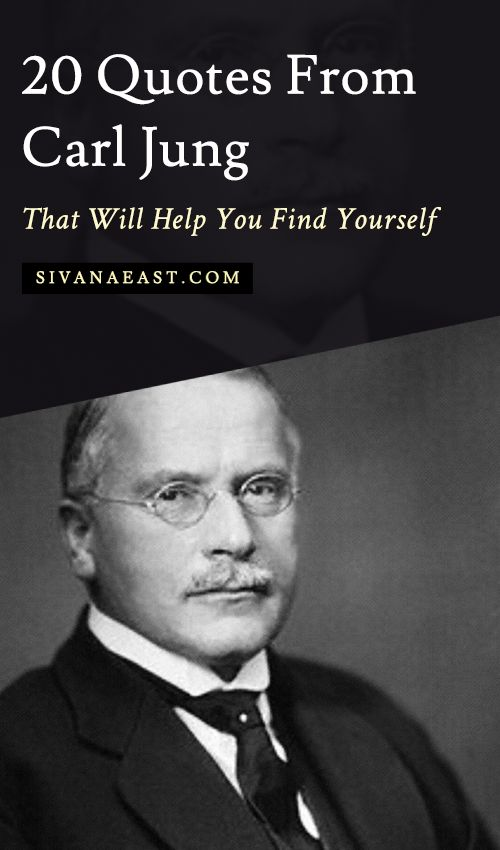 20 Quotes From Carl Jung That Will Help You Find Yourself