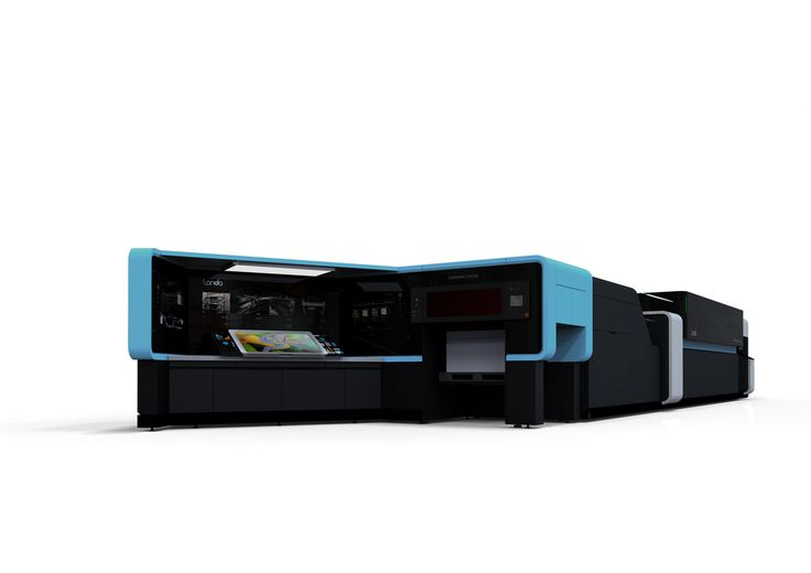 Landa S10 Nanographic Printing Press | Red Dot 21