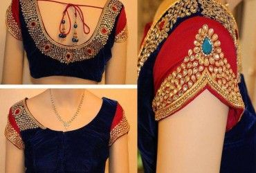 In this website, we have given a variety of collection of different sari blouse designs. There are images of new blouse design patterns begin from simple.