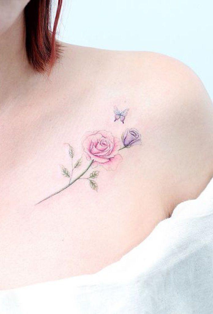 30 Delicate Flower Tattoo Ideas Tattoos Tatuagem Feminina Tatuagem