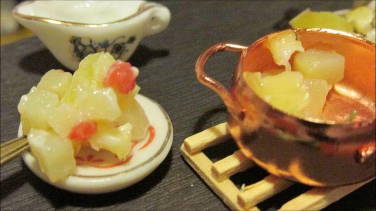 Mini Kitchen/Potatoes with vegetables