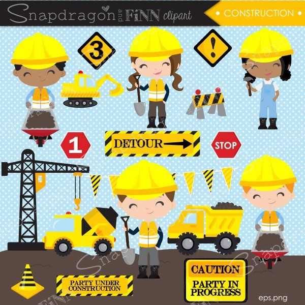 Construction Truck Clipart